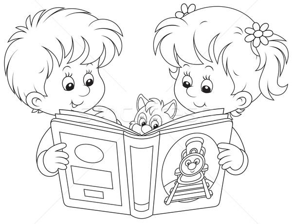 Copii 183 Lectură 183 Fetita 183 Băiat 183 Carte 183 Fată