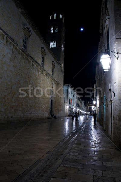 Dubrovnik by night Stock photo © alexeys