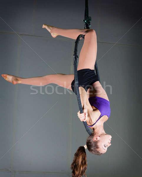 体操選手 美人 スポーツ フィットネス ストックフォト © alexeys