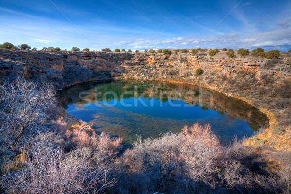 Montezuma well Stock photo © alexeys