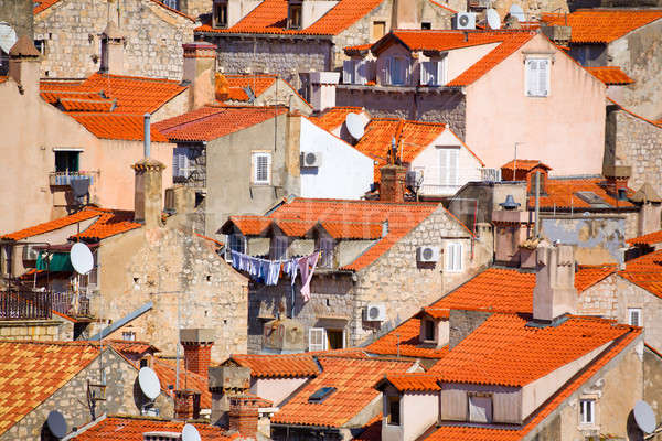 Roofs of Dubrovnik Stock photo © alexeys