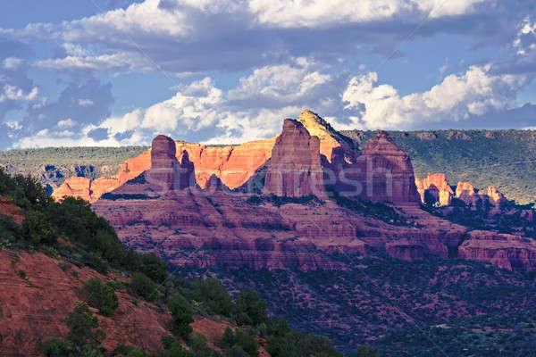 Arizona rot Felsen schönen Ansicht Natur Stock foto © alexeys