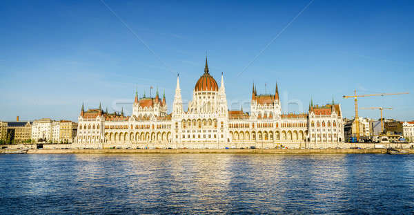 Hungarian Parliament Building in Budapest Stock photo © alexeys