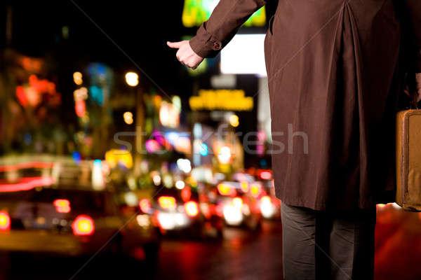 Leaving the city Stock photo © alexeys