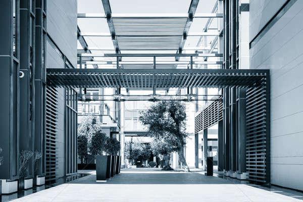 ドバイ 市 徒歩 近代建築 人気のある ショッピング ストックフォト © alexeys