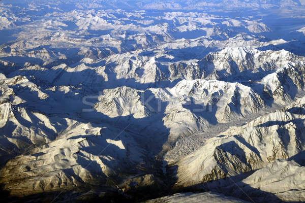 Montagna Alaska natura neve inverno Foto d'archivio © alexeys