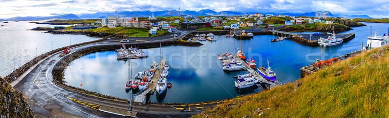 Stykkisholmur Harbor Stock photo © alexeys