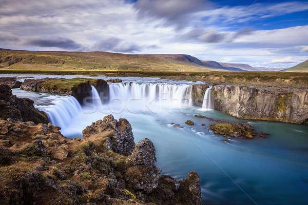 Godafoss waterfall Stock photo © alexeys