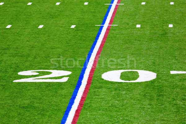 Twenty-yard line Stock photo © alexeys
