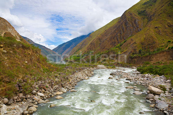 River in the Andes Stock photo © alexeys