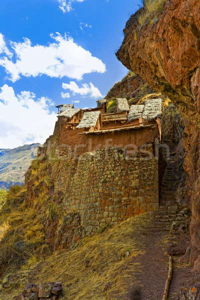 Inca ruins Stock photo © alexeys