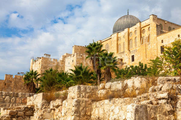 Al Aksa mosque, Jerusalem Stock photo © alexeys