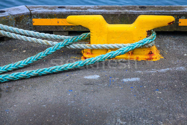 Mooring lines Stock photo © alexeys