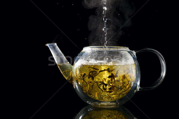 Brewing tea Stock photo © alexeys