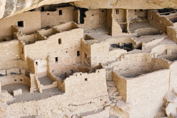 Indian ruins at Mesa Verde Stock photo © alexeys