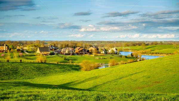 Subdivision in rural Kentucky Stock photo © alexeys