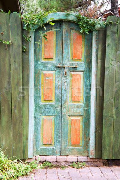 Antique gate Stock photo © alexeys