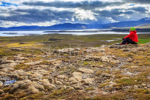 Helgafell Mountain Stock photo © alexeys