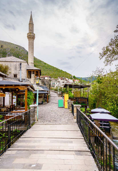 Old street in Mostar Stock photo © alexeys