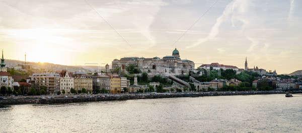 Buda Castle in Budapest Stock photo © alexeys
