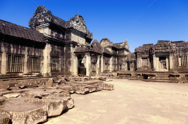 Angkor Wat edifício rocha pedra cultura Foto stock © alexeys