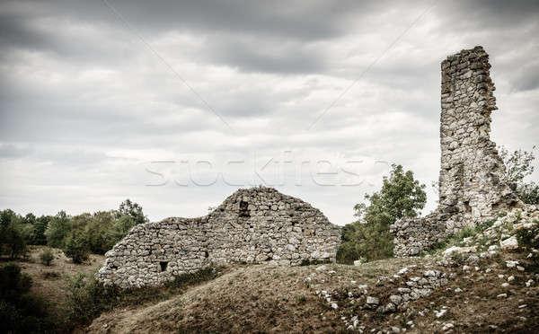 Old town of Dreznik Stock photo © alexeys