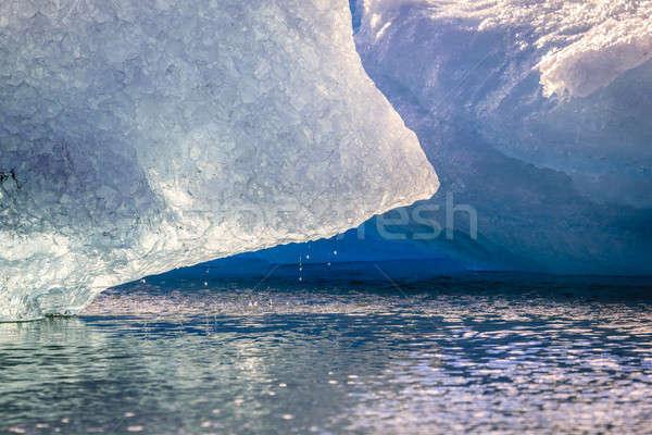 айсберг изображение солнце воды Сток-фото © alexeys