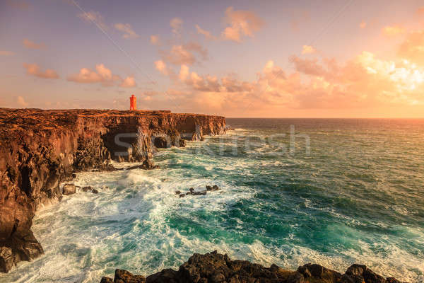 Icelandic coast Stock photo © alexeys