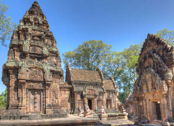 Banteay Srey Temple Stock photo © alexeys
