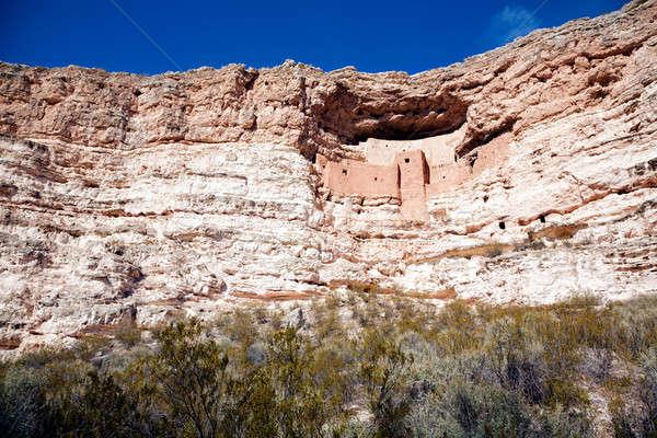 Montezuma Castle Stock photo © alexeys