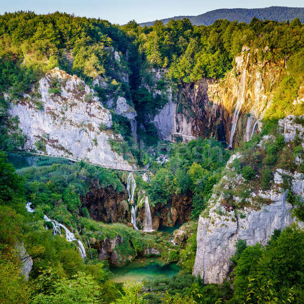 Grand Waterfall Stock photo © alexeys