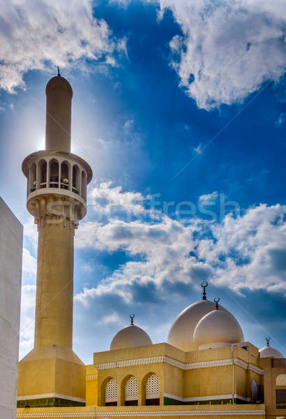 Mosque in Bur Dubai Stock photo © alexeys