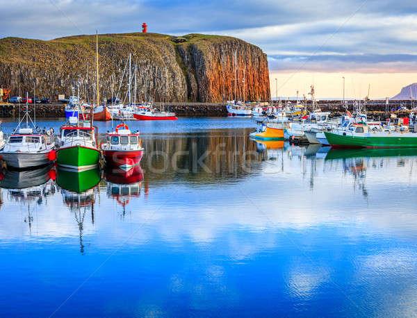 Stykkisholmur Harbor Stock photo © alexeys
