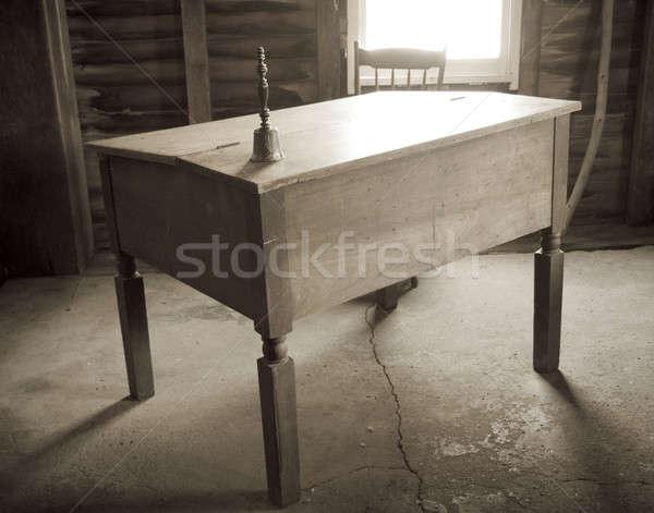 Desk Stock photo © alexeys