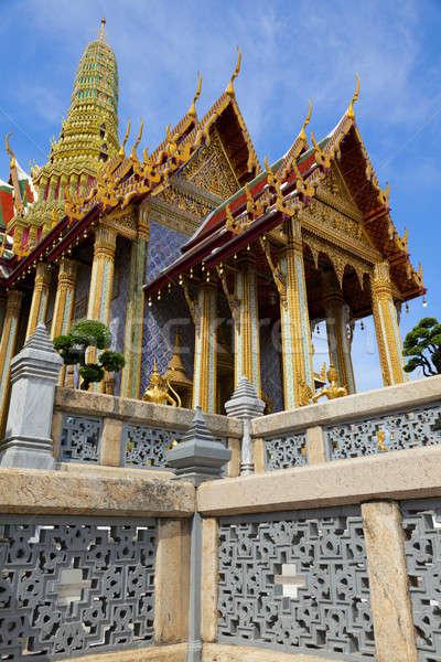 寺 エメラルド 仏 宮殿 バンコク ストックフォト © alexeys