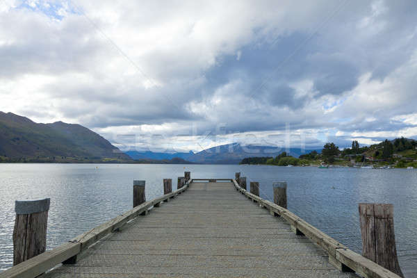 Stock photo: Lake Wanaka