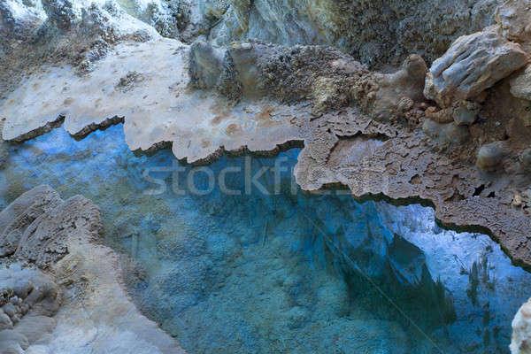 пещера парка Нью-Мексико воды путешествия рок Сток-фото © alexeys