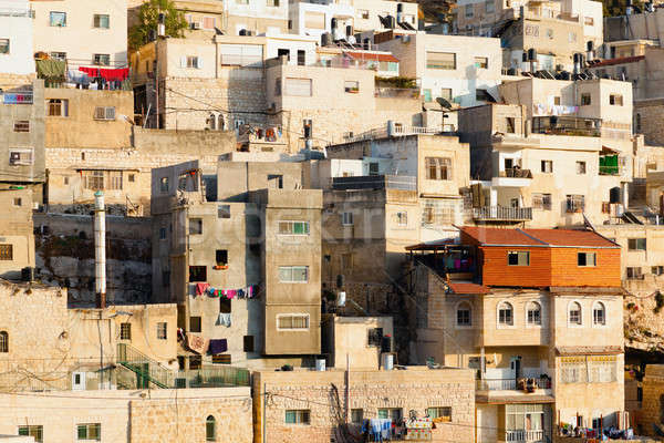 Arab village Stock photo © alexeys