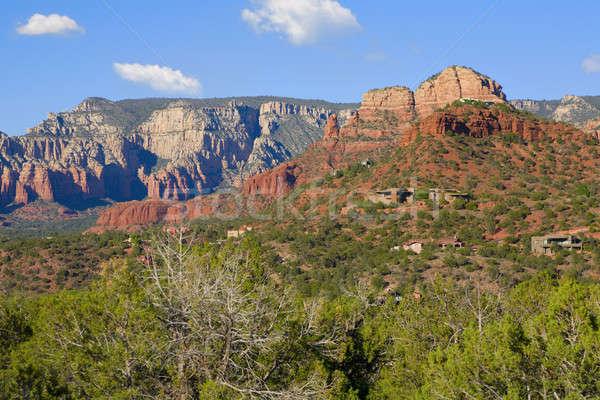 Arizona Red Rocks Stock photo © alexeys