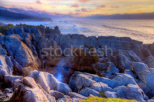 Punakaiki Pancake Rocks Stock photo © alexeys
