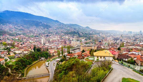 Sarajevo, Bosnia Stock photo © alexeys