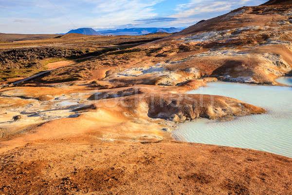 Krafla volcanic field Stock photo © alexeys