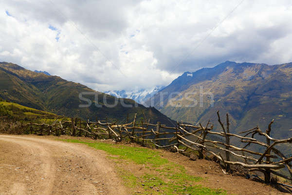 Road in Andes Stock photo © alexeys