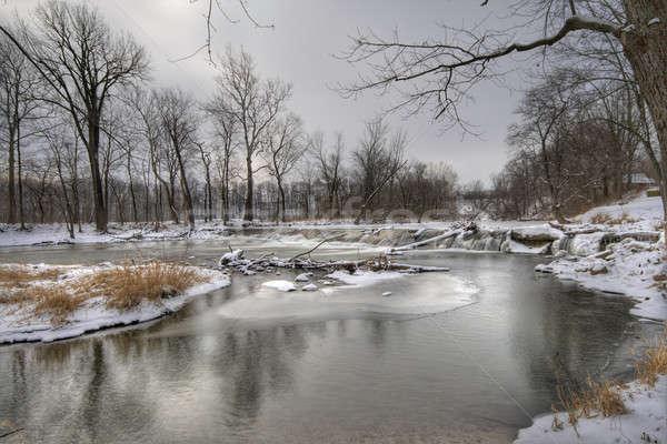 Winter landscape Stock photo © alexeys