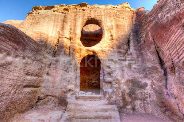 Tombs of Petra Stock photo © alexeys