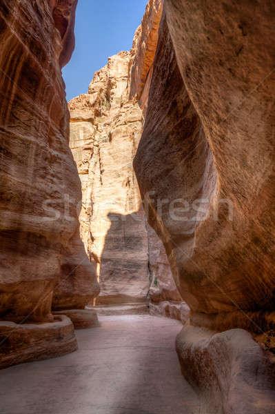 Siq, the canyon Stock photo © alexeys