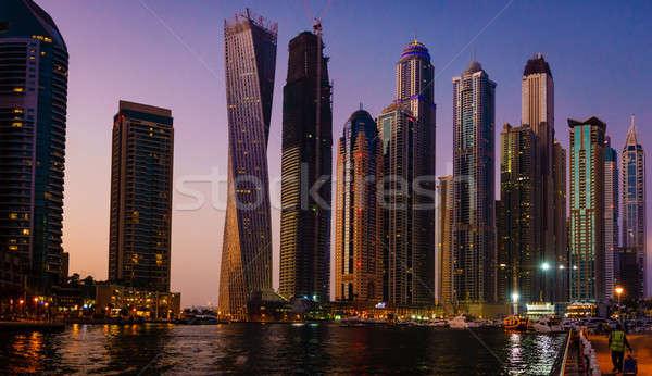 Dubai Marina Stock photo © alexeys
