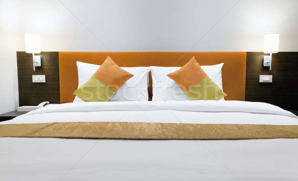 Hotel bed  Stock photo © alexeys