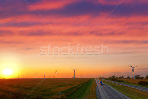 Wind power Stock photo © alexeys