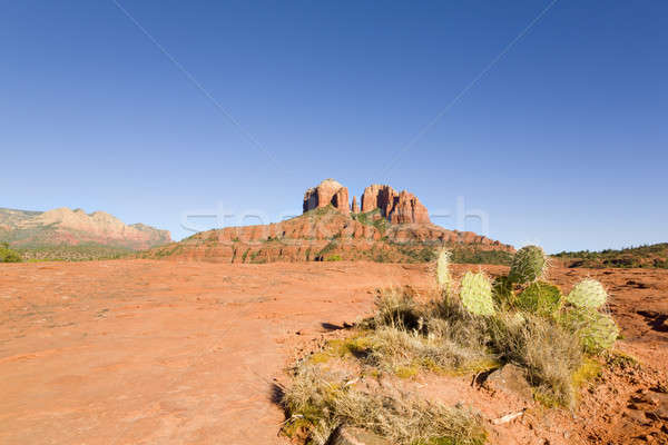 Red Rock Butte Stock photo © alexeys